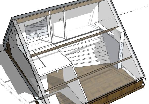 Steffest digitale pulptuur for 3d planner zolder